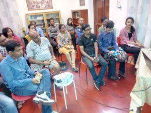 Conferencia en India